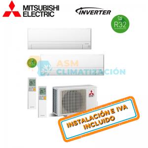 MITSUBISHI MXZ-2F42VF + MSZ-AP20VGK + MSZ-AP25VGK