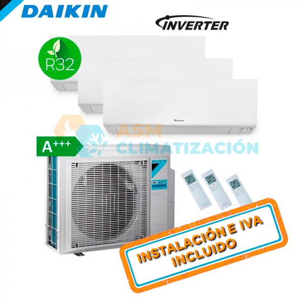 DAIKIN 3MXM52N + FTXM25R (X3)