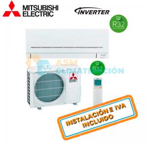 Aire Acondicionado Split 1X1 MITSUBISHI MSZ AP20VGK